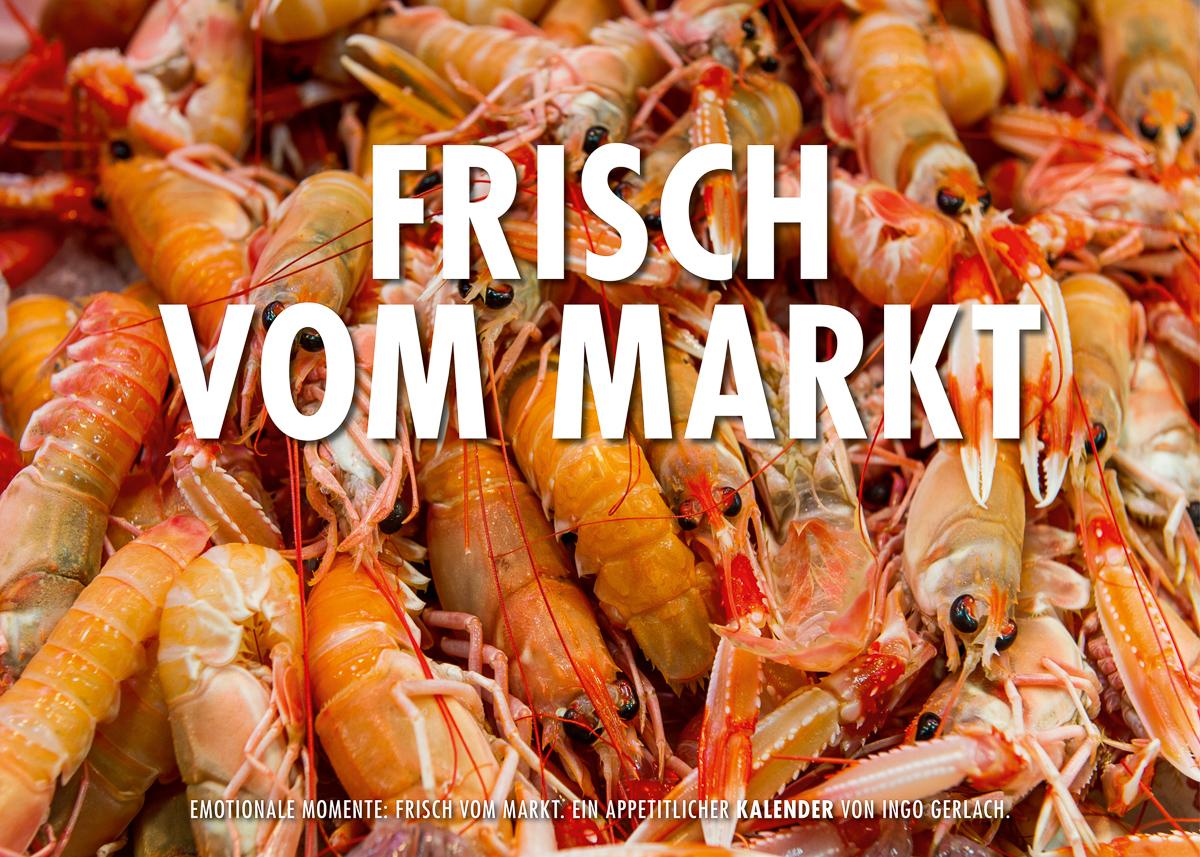 Kalender Frisch vom Markt