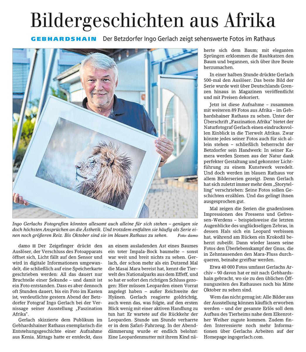 Siegener Zeitung 27.8.16