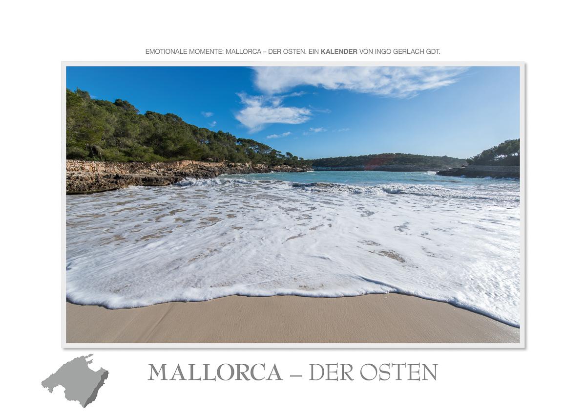 Kalender Mallorca der Osten