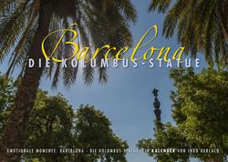 Kalender Barcelona Die Columbus Statue