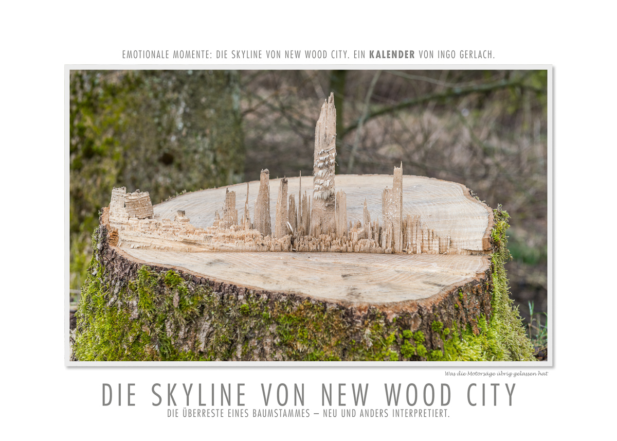 Kalender Skyline von New Wood City