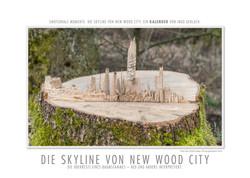 Kalender Skyline von New Wood City