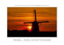 Kalender Texel - im Wattenmeer