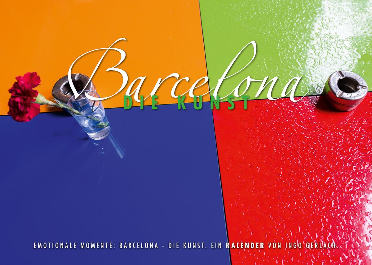 Kalender Barclona - die Kunst