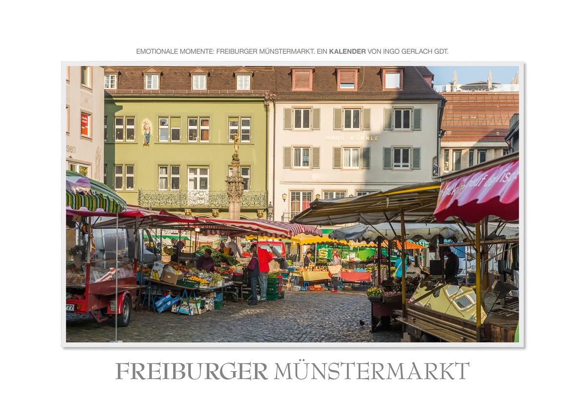 Kalender Freiburger Münstermarkt