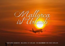 Kalender Mallorca ist Urlaub