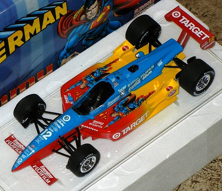1999 Jimmy Vasser Target SUPERMAN Indy Car Series 1/18th scale Action