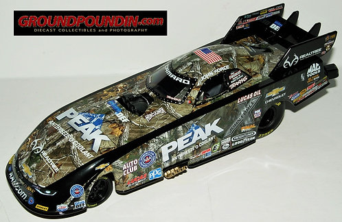 2016 John Force REALTREE PEAK ANTIFREEZE Chevrolet SS Camaro NHRA Funny Car