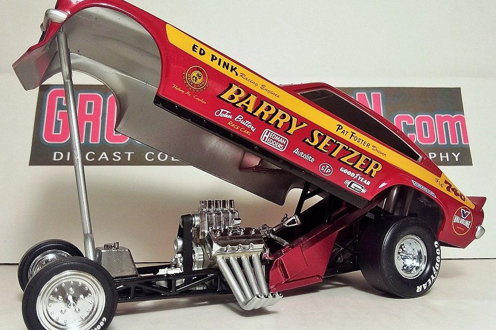 Pat Foster piloted Barry Setzer NHRA Chevrolet Vega Funny Car Super ...