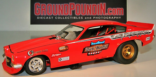 From 1320 Larry Christopherson Dick Harrell Chevrolet Vega NHRA Funny Car 1/24