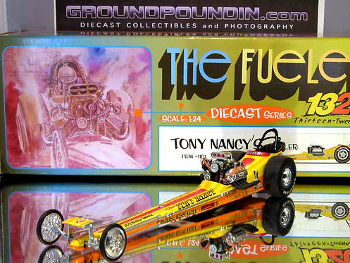 1320 1st release Tony Nancy The Loner Front Motored NHRA Top Fuel Dragster 1/24
