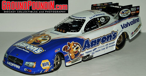 2011 Jack Beckman Aaron's Dream Machine NHRA Dodge Charger RT Funny Car