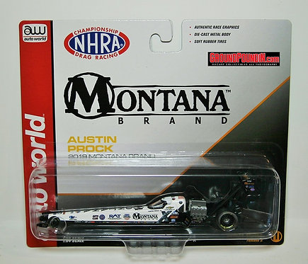 NEW! 2019 Austin Prock Montana Brand Rocky Mountain Twist NHRA Top Fuel Dragster