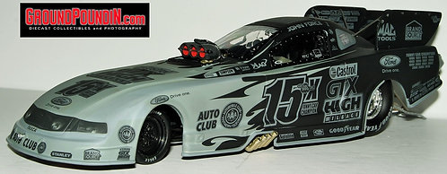 STEALTH FINISH 2011 John Force Castrol 15X Time Champion NHRA Mustang Funny Car