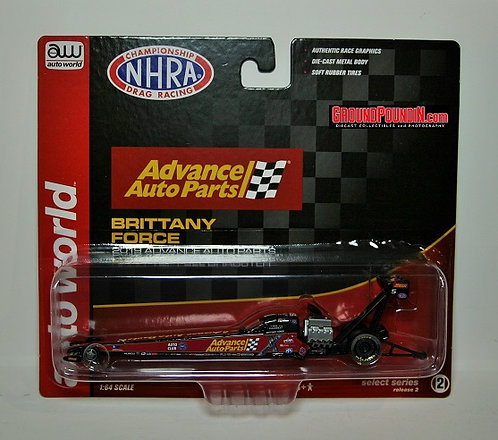 NEW! 2019 Brittany Force ADVANCE AUTO PARTS NHRA Top Fuel Dragster