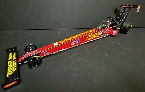 UN-NUMBERED 2019 Brittany Force ADVANCED AUTO PARTS NHRA Top Fuel Dragster