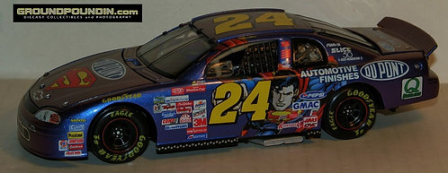 "1999 Jeff Gordon #24 Dupont ""SUPERMAN"" Chevrolet Monte Carlo 1/24 CWC"