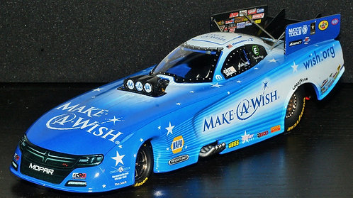 2016 Tommy Johnson Jr. MAKE A WISH Dodge Charger RT Funny Car 1/24