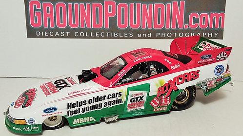 2003 John Force Castrol GTX 12X Champ BOX CARS NHRA Mustang Funny Car 1/24