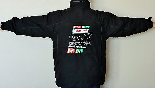LIKE NEW John Force Castrol Racing Mens Jacket with Removable Liner Mens Large
