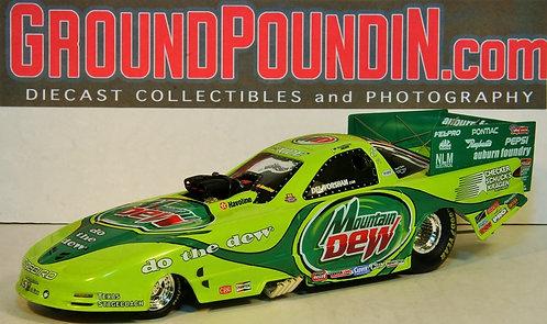 2001 Del Worsham MOUNTAIN DEW NHRA Pontiac Firebird Funny Car
