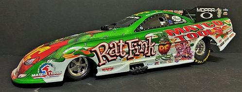 "RARE! 1/16th Milestone 2004 Whit Bazemore ""RAT FINK"" Dodge Stratus RT Funny Car"