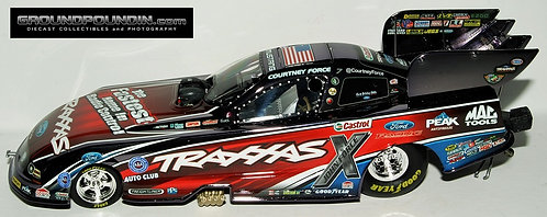LOW DIN. #6 COLORCHROME 2014 Courtney Force Traxxas Ford Mustang NHRA Funny Car