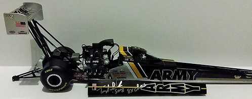 """SIGNED W-COA UN-NUMBERED 2016 Tony Schumacher """"U.S. ARMY"""" NHRA Top Fuel Dragster"""