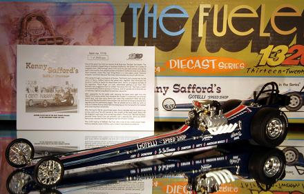 """1320 Kenny Stafford's """"Gotelli Speed Shop"""" Front Motored NHRA Top Fuel Dragster"""