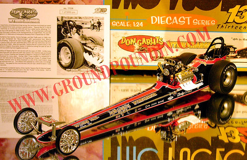 From 1320 Big Daddy Don Garlits Swamp Rat XII NHRA Front Motored Dragster 1/24