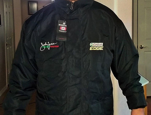 NEW W-Tags John Force Castrol Edge Mens Jacket with Removable Liner Mens Large