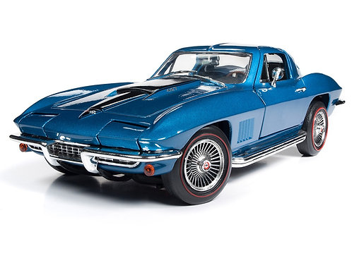 NEW! 1/18 American Muscle 1967 Chevrolet 427 Corvette Stingray AMM1176