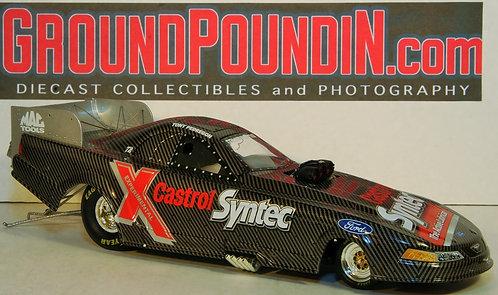 2001 Tony Pedregon Castrol Syntec TEST CAR NHRA Ford Mustang Funny Car