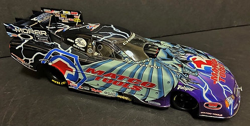1 of 100 COLORCHROME 2006 Whit Bazemore MATCO TOOLS Charger RT NHRA Funny Car