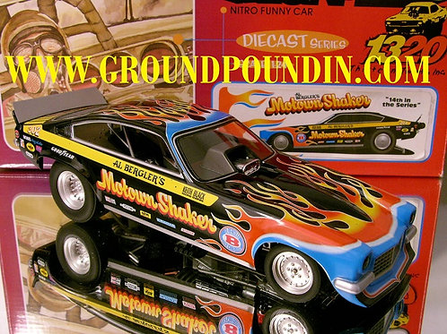 From 1320 Inc. Al Bergler's MOTOWN SHAKER Chevrolet Vega NHRA Funny Car 1/24