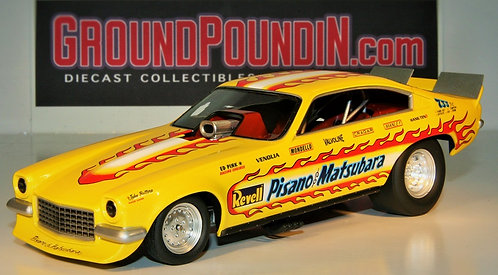 From 1320 Revell's Pisano & Matsubara NHRA Chevrolet Vega Funny Car TT1213