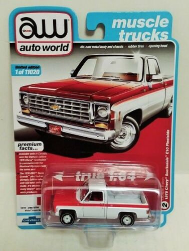2 Trucks OLYMPIC & Spirit of 76 Chevy C-10 Fleetside Pick-Ups