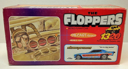 From 1320 Whipple & McCulloch NHRA Plymouth Barracuda Funny Car 1/24