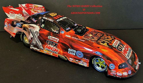 RARE 2007 John Force Castrol GTX NORWALK NIGHT UNDER FIRE NHRA Mustang F