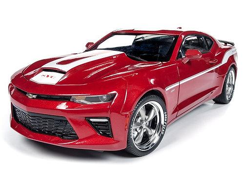 NEW 800HP 2017 YENKO Chevrolet Camaro Coupe Garnet Mist Red 1/18 AutoWorld AW246