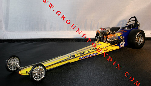 From 1320 Don Prudhomme WYNN'S WINDER Front Motored NHRA Top Fuel Dragster 1/24