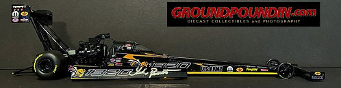 Autographed W-COA 2018 Leah Pritchett ANGRY BEE/1320 NHRA Top Fuel Dragster