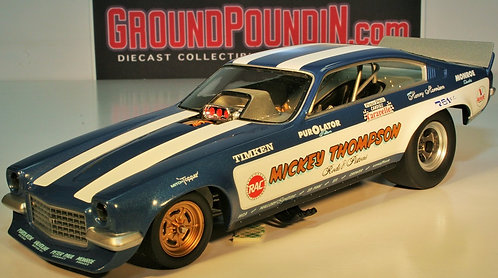 From 1320 Inc. Mickey Thompson Rods & Pistons NHRA Chevrolet Vega Funny Car 1/24