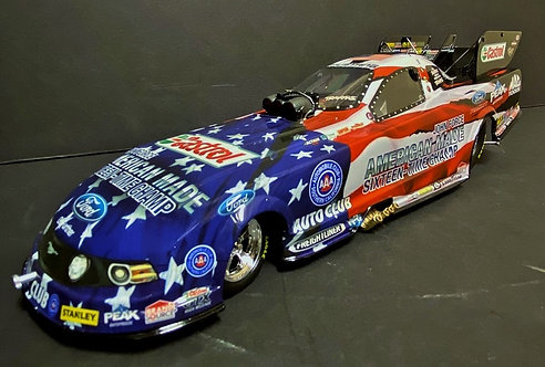 NEW!! 2014 John Force Norwalk 16X American Pride NHRA Ford Mustang Funny Car