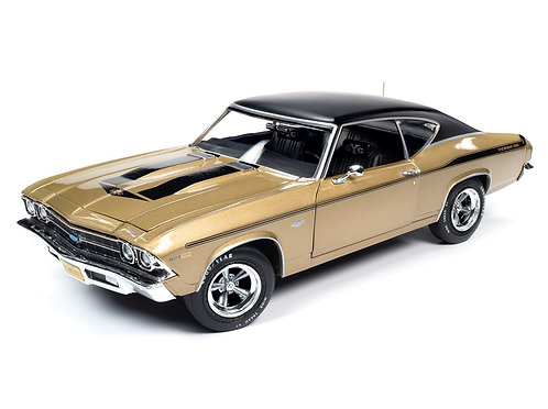 NEW 1/18 American Muscle 1969 Chevrolet YENKO 427 Chevelle