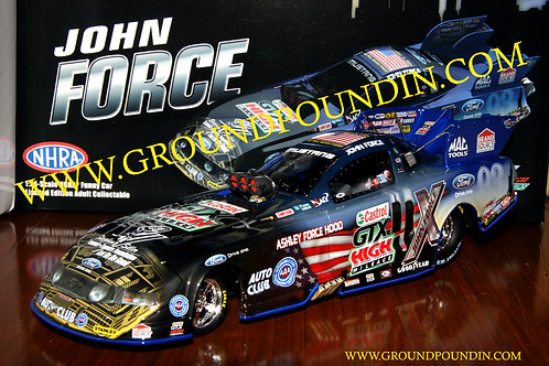 2011 John Force Castrol 9/11 Honoring Our Heroes NHRA Ford Mustang Funny