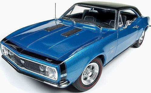 1967 Baldwin Motion 427 4 speed Chevrolet SS Marina Blue Camaro