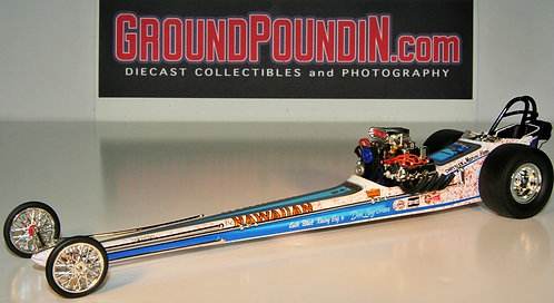 From 1320 Roland Leong The Hawaiian Front Motored NHRA Top Fuel Dragster 1/24