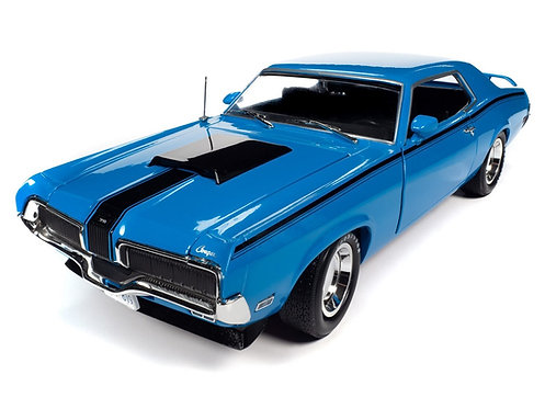 A NEW RELEASE! American Muscle 1970 Mercury Cougar Eliminator Boss 302 MCACN
