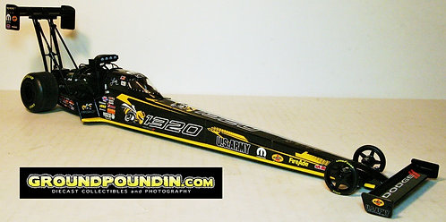 UN-NUMBERED & Signed 2018 Leah Pritchett Angry Bee 1320 NHRA Top Fuel Dragster